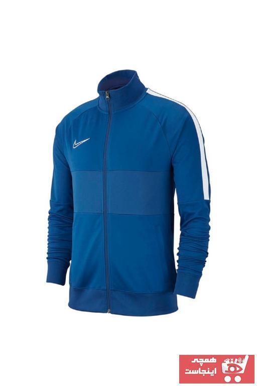 خرید نقدی گرمکن ورزشی ارزان مردانه برند Nike اورجینال رنگ لاجوردی کد ty34978405