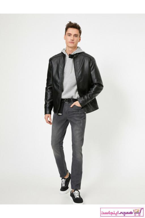 شلوار جین مردانه جدید برند کوتون رنگ نقره ای کد ty35068057
