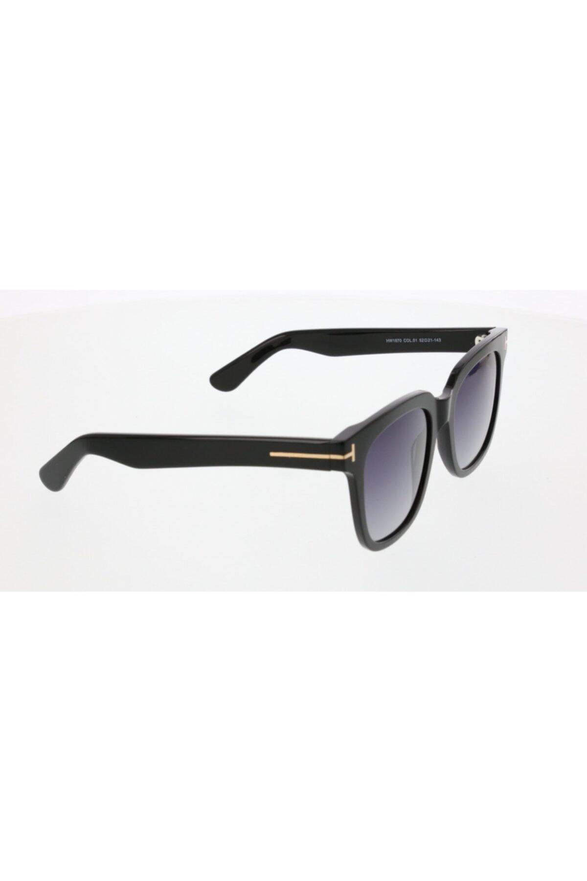 عینک آفتابی یونیسکس شیک مجلسی برند HAWK رنگ مشکی کد ty35106883