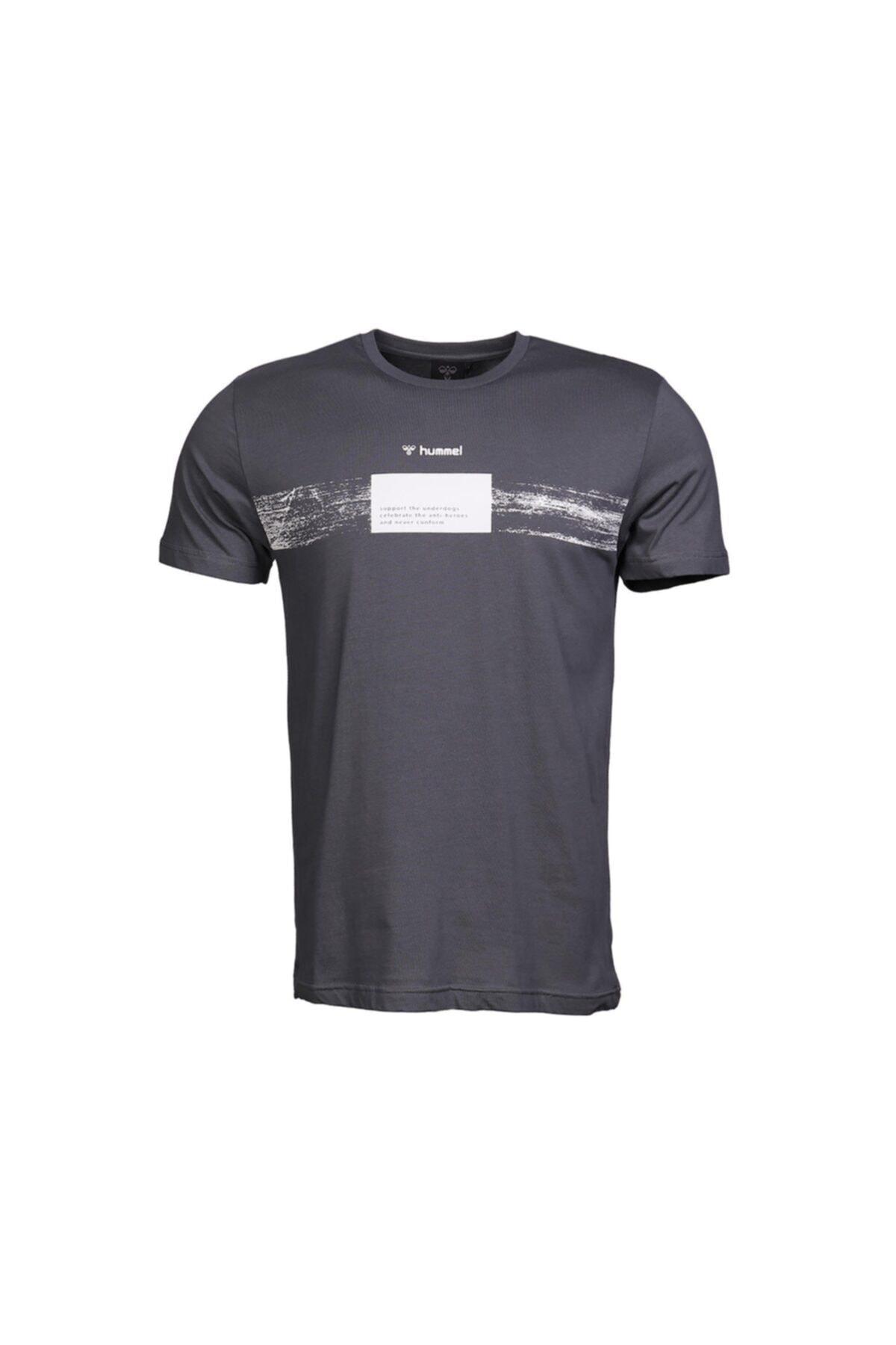 خرید اینترنتی تیشرت بلند مارک هومل رنگ نقره ای کد ty35178100