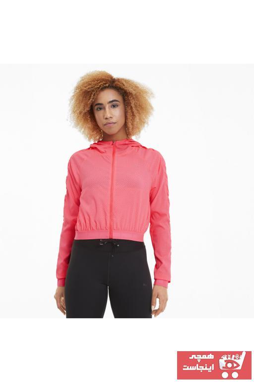فروش اینترنتی گرمکن ورزشی زنانه با قیمت برند Puma رنگ صورتی ty35215992