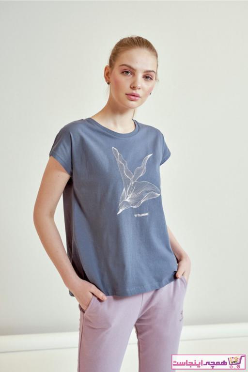 فروش تیشرت ورزشی زنانه ترک ارزان برند هومل رنگ مشکی کد ty35221253
