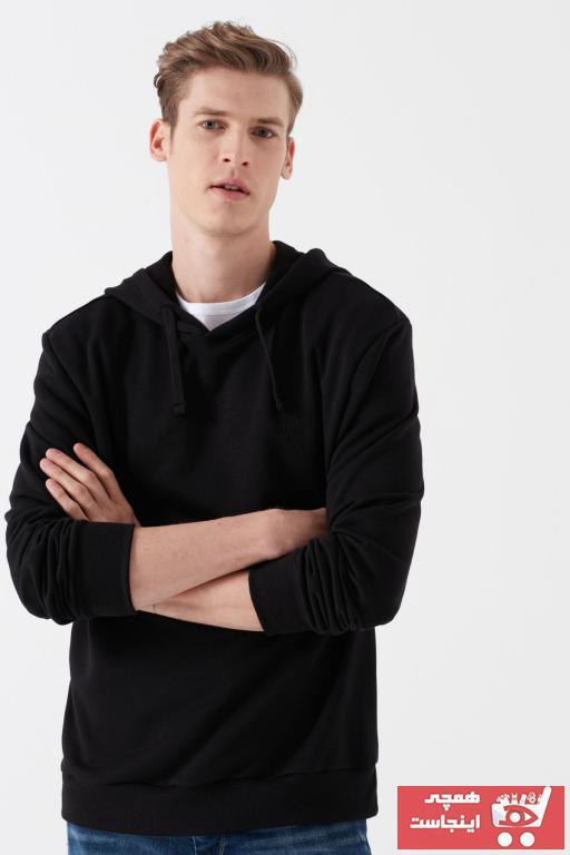 خرید سویشرت مردانه شیک مجلسی برند ماوی رنگ مشکی کد ty35326074