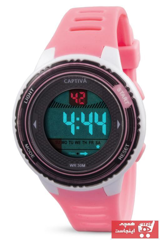 فروش ساعت دخترانه ترک مجلسی برند Chrono رنگ صورتی ty35421978