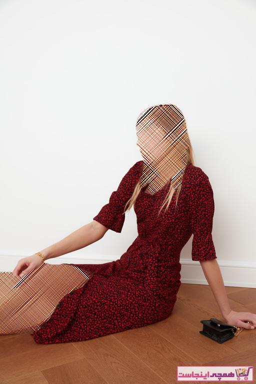 خرید پیراهن 2020 زنانه برند TRENDYOLMİLLA رنگ قرمز ty35468476