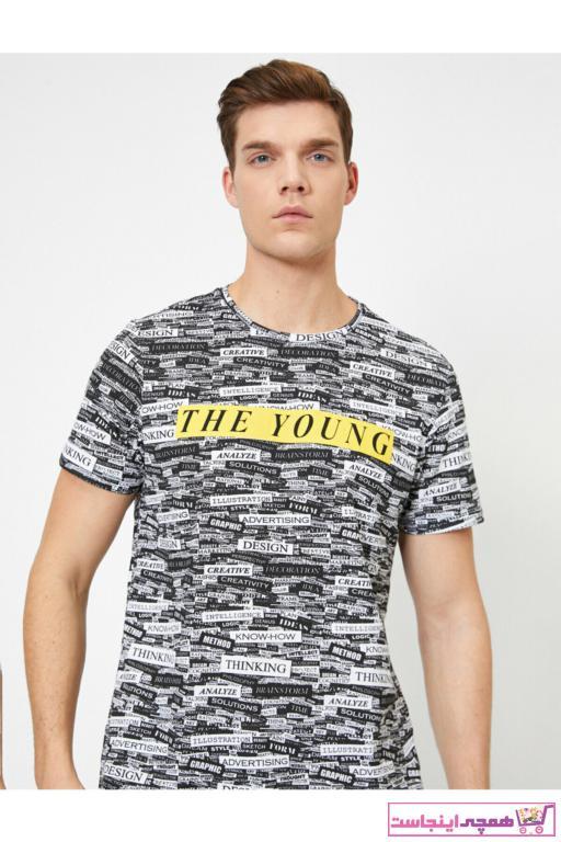 خرید تی شرت غیرحضوری برند کوتون رنگ مشکی کد ty35499867