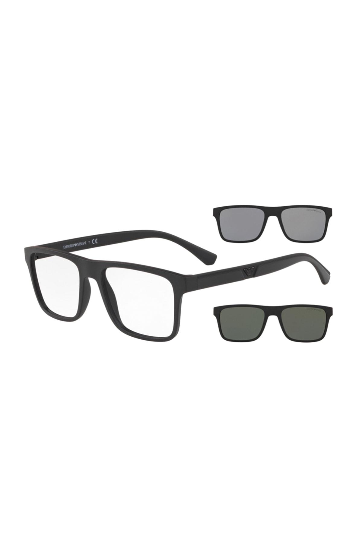 سفارش انلاین عینک آفتابی مردانه ساده برند امپریو آرمانی رنگ مشکی کد ty35522400