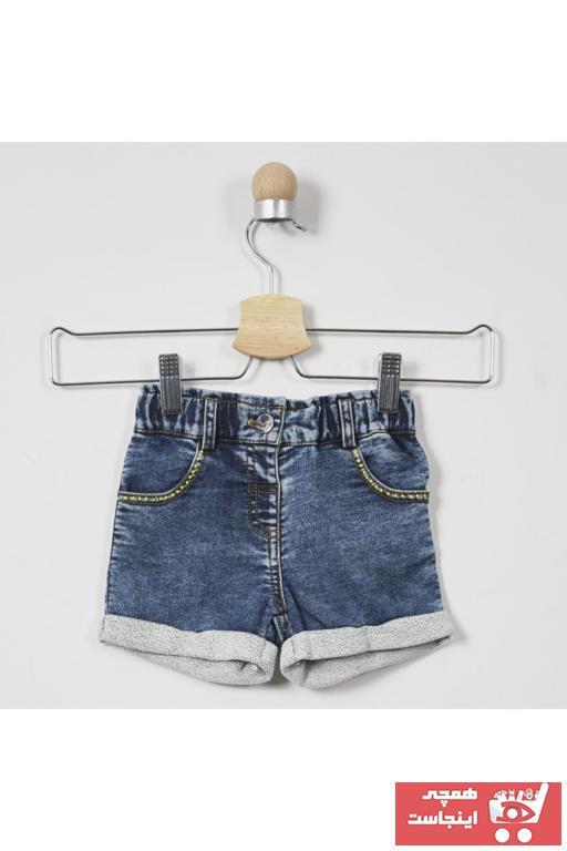 فروش شلوارک نوزاد دخترانه برند Panço رنگ لاجوردی کد ty35622323