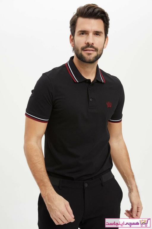 تی شرت بلند برند دفاکتو ترکیه رنگ مشکی کد ty35624612