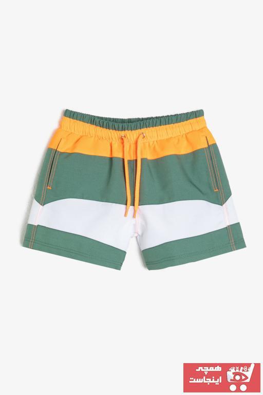 مایو پسرانه برند Koton Kids رنگ سبز کد ty35772474