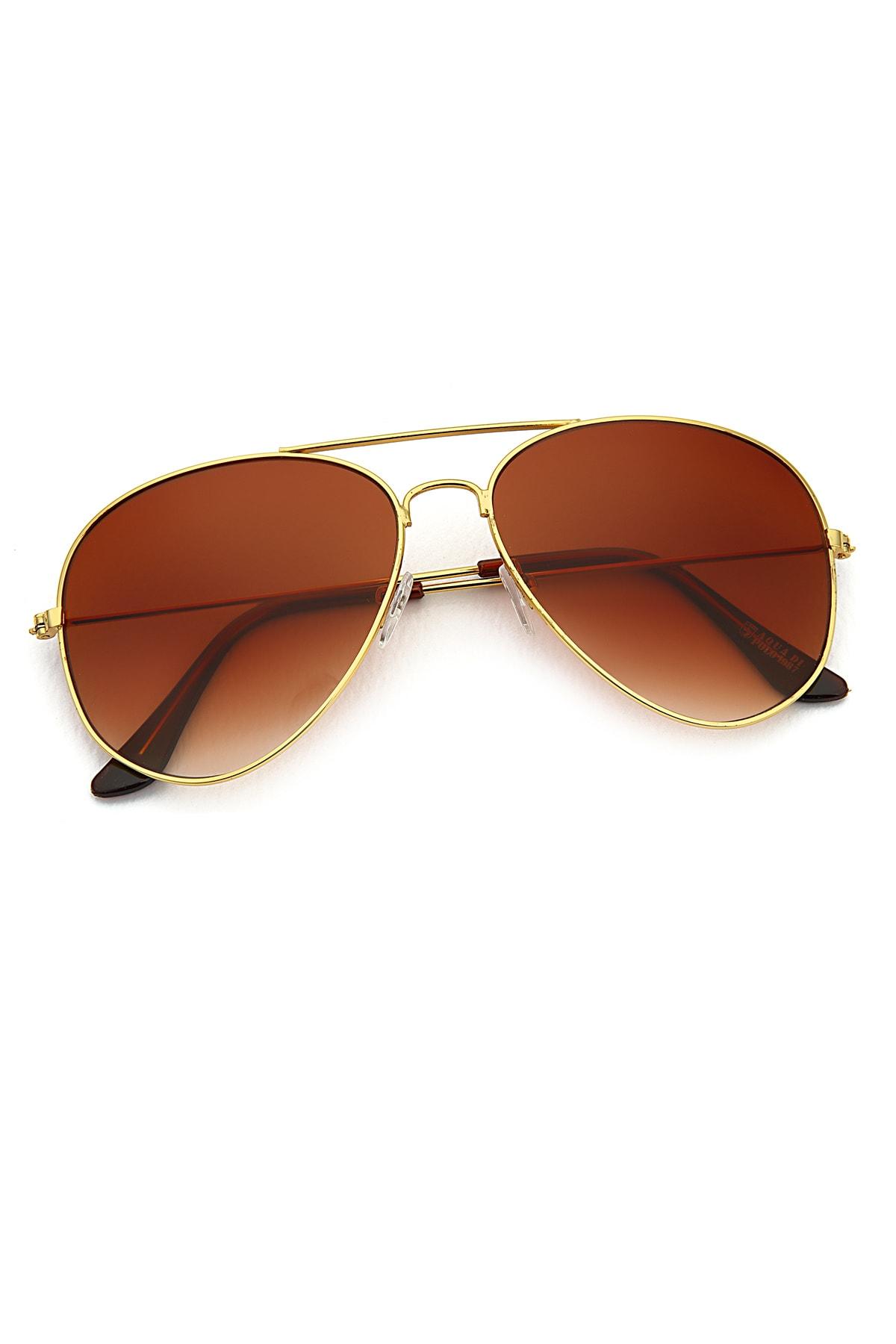 عینک آفتابی زنانه شیک جدید برند Aqua Di Polo 1987 رنگ مشکی کد ty35810002