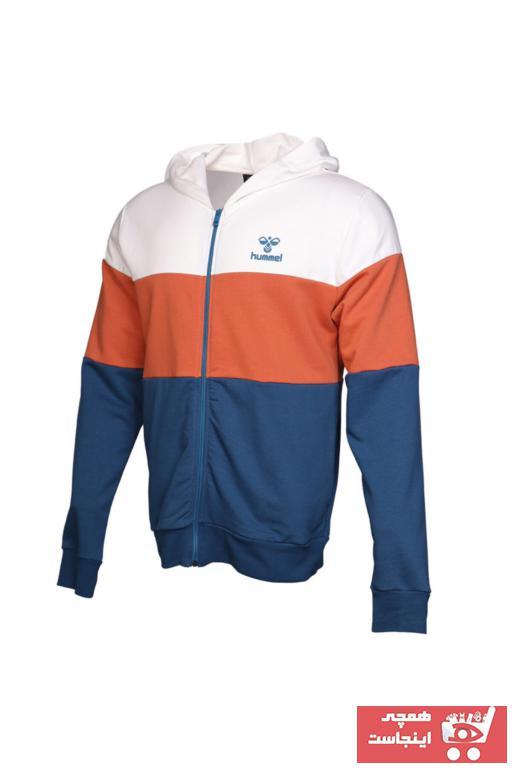 خرید اینترنتی گرمکن ورزشی مردانه برند هومل رنگ آبی کد ty35835577