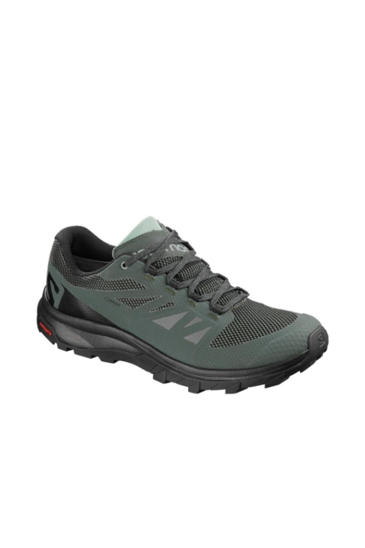 کفش کوهنوردی مردانه ترک برند Salomon رنگ سبز کد ty3621366