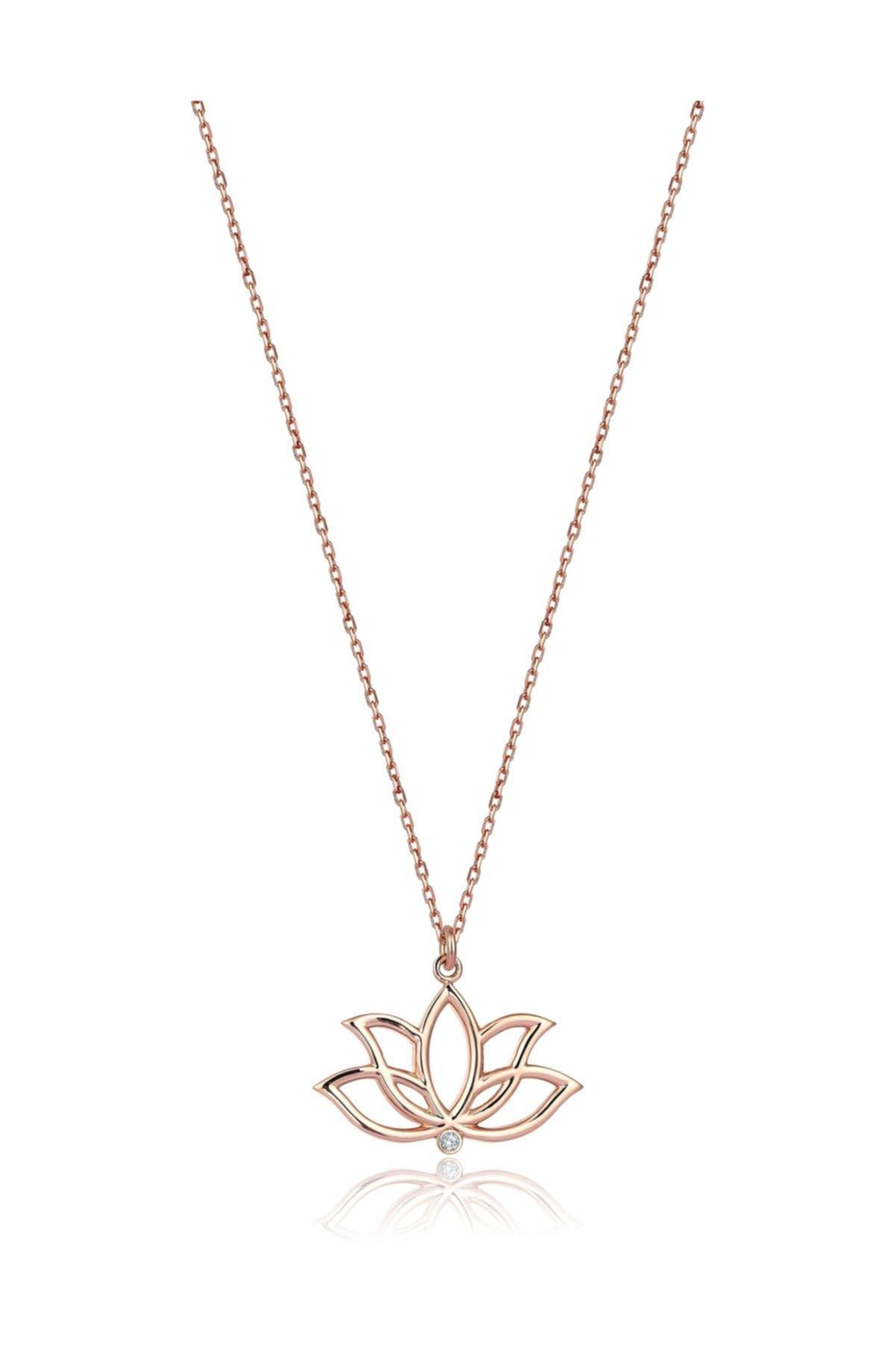 گردنبند زنانه ارزان Marla Jewelry رنگ صورتی ty36356390