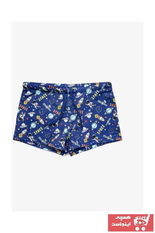 خرید انلاین مایو بچه گانه فانتزی برند Koton Kids رنگ آبی کد ty36510550