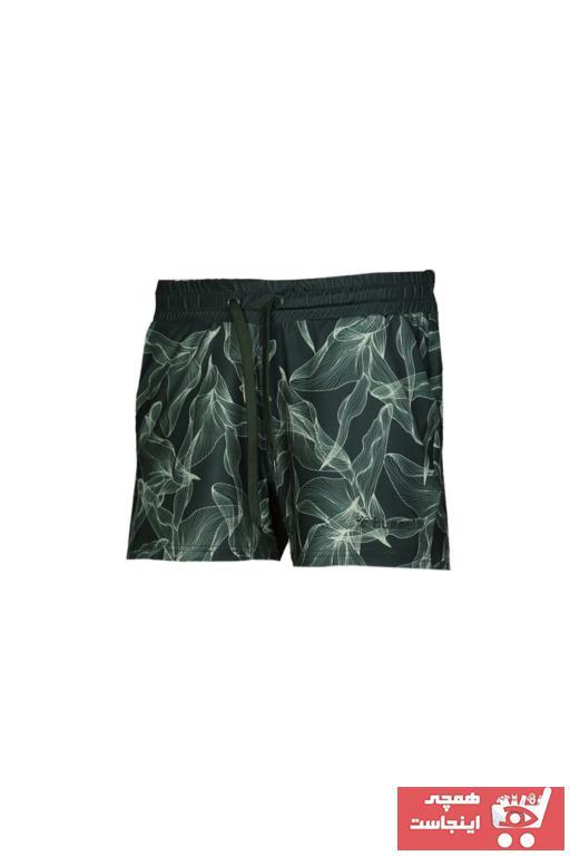 خرید انلاین شلوارک ورزشی جدید مردانه شیک مارک هومل رنگ سبز کد ty36519539