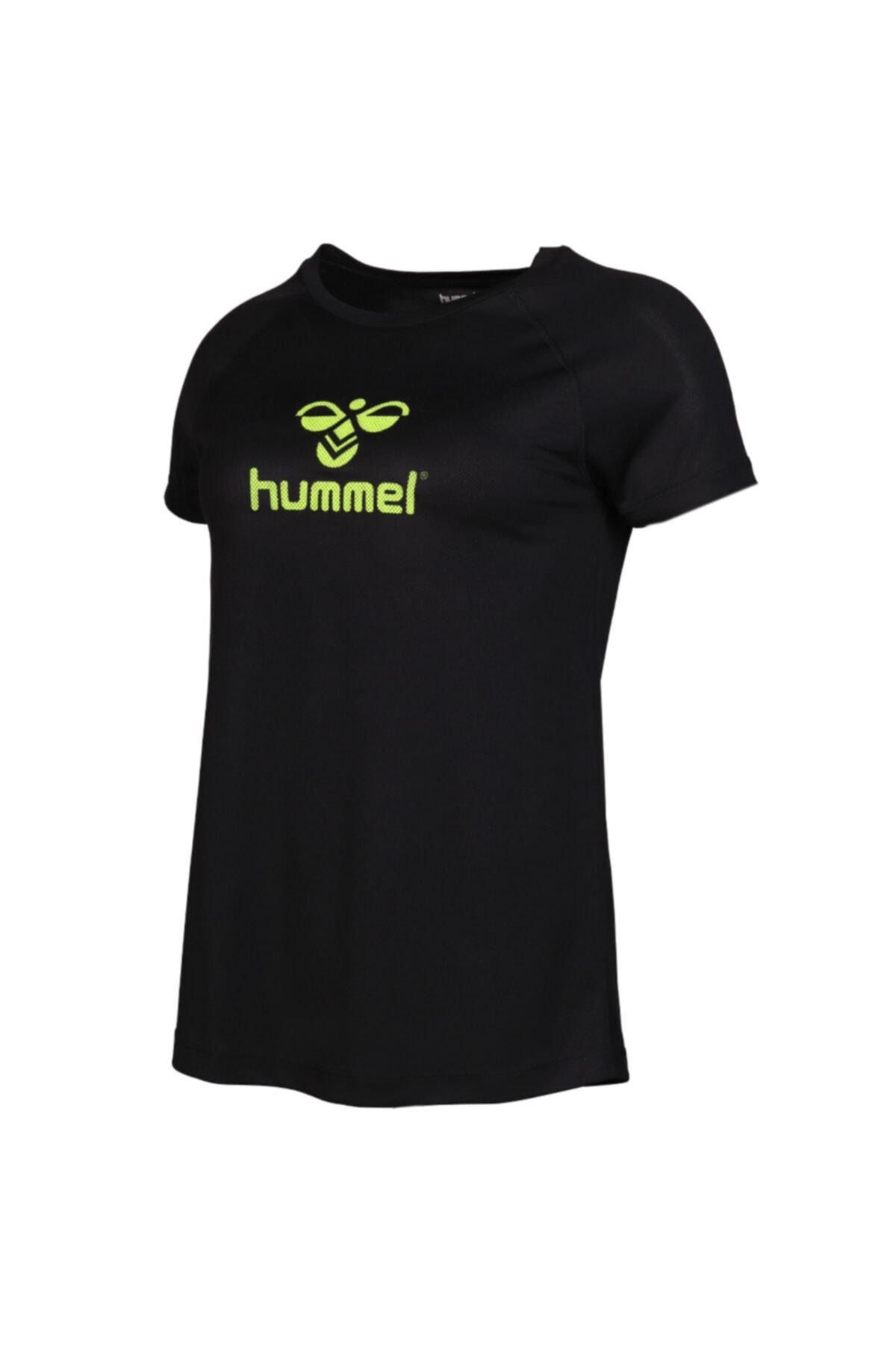 خرید تیشرت ورزشی زنانه ترک جدید برند هومل رنگ مشکی کد ty36519591