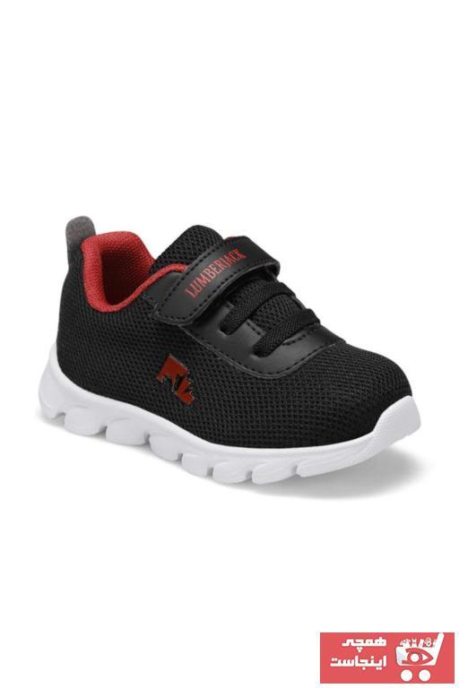ژورنال کفش پیاده روی نوزاد پسرانه برند lumberjack رنگ مشکی کد ty36678788