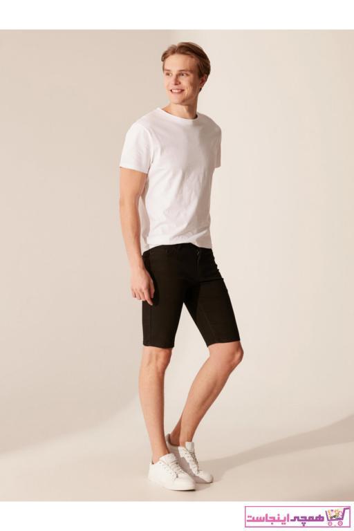 خرید انلاین شلوارک اورجینال مردانه برند ال سی وایکیکی رنگ مشکی کد ty36703584