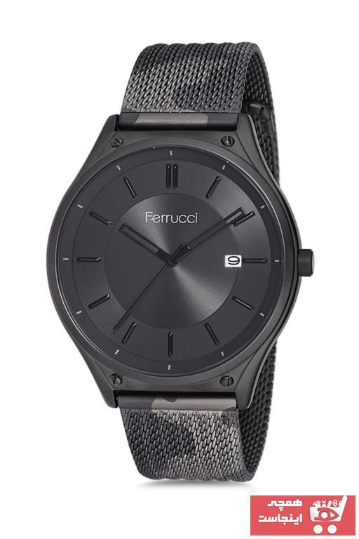 سفارش ساعت مچی مردانه برند Ferrucci رنگ مشکی کد ty36848431