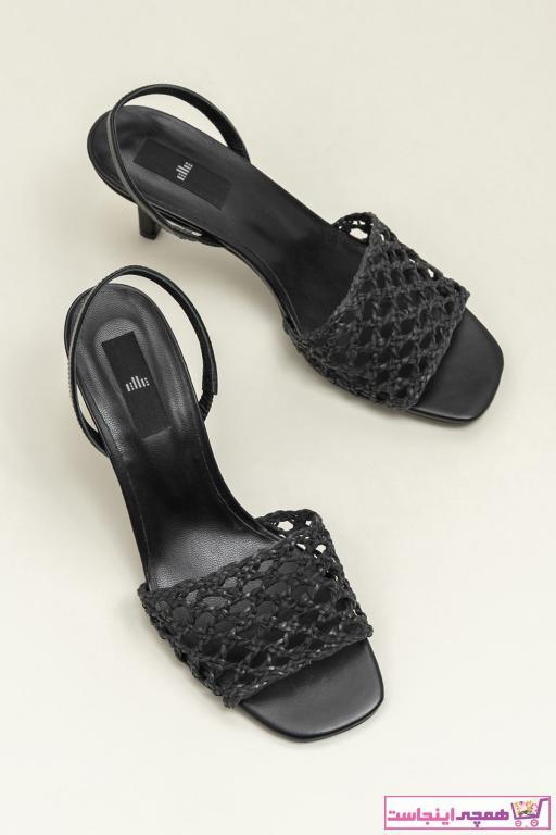 صندل مدل 2020 برند Elle Shoes رنگ مشکی کد ty36921586