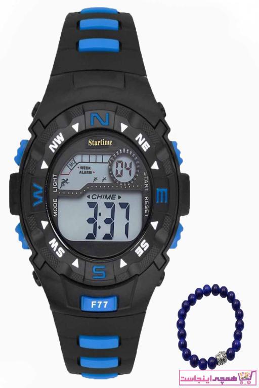 خرید نقدی ساعت ارزان پسرانه برند Startime رنگ آبی کد ty37195975