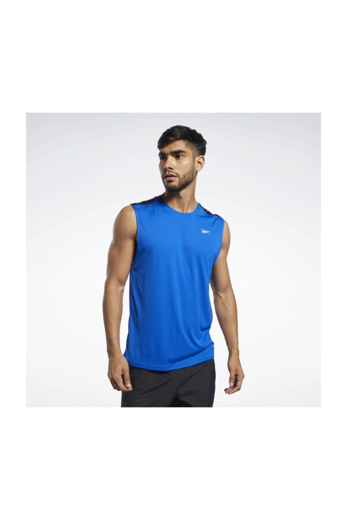 خرید مدل تاپ ورزشی مردانه برند ریبوک رنگ آبی کد ty37198163