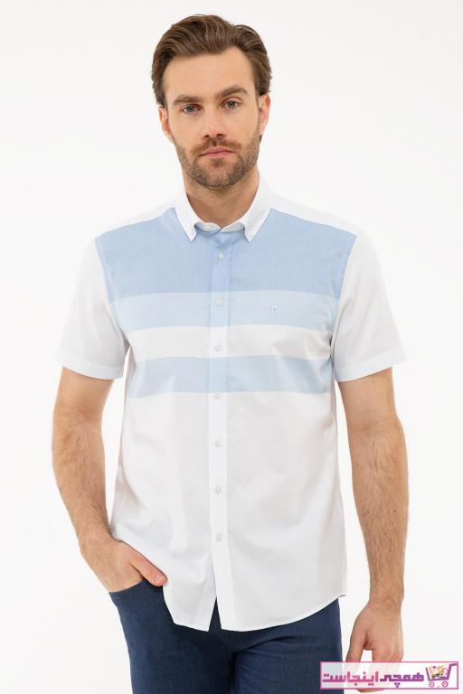 خرید پیراهن اسپرت مردانه شیک برند پیرکاردین کد ty37209458