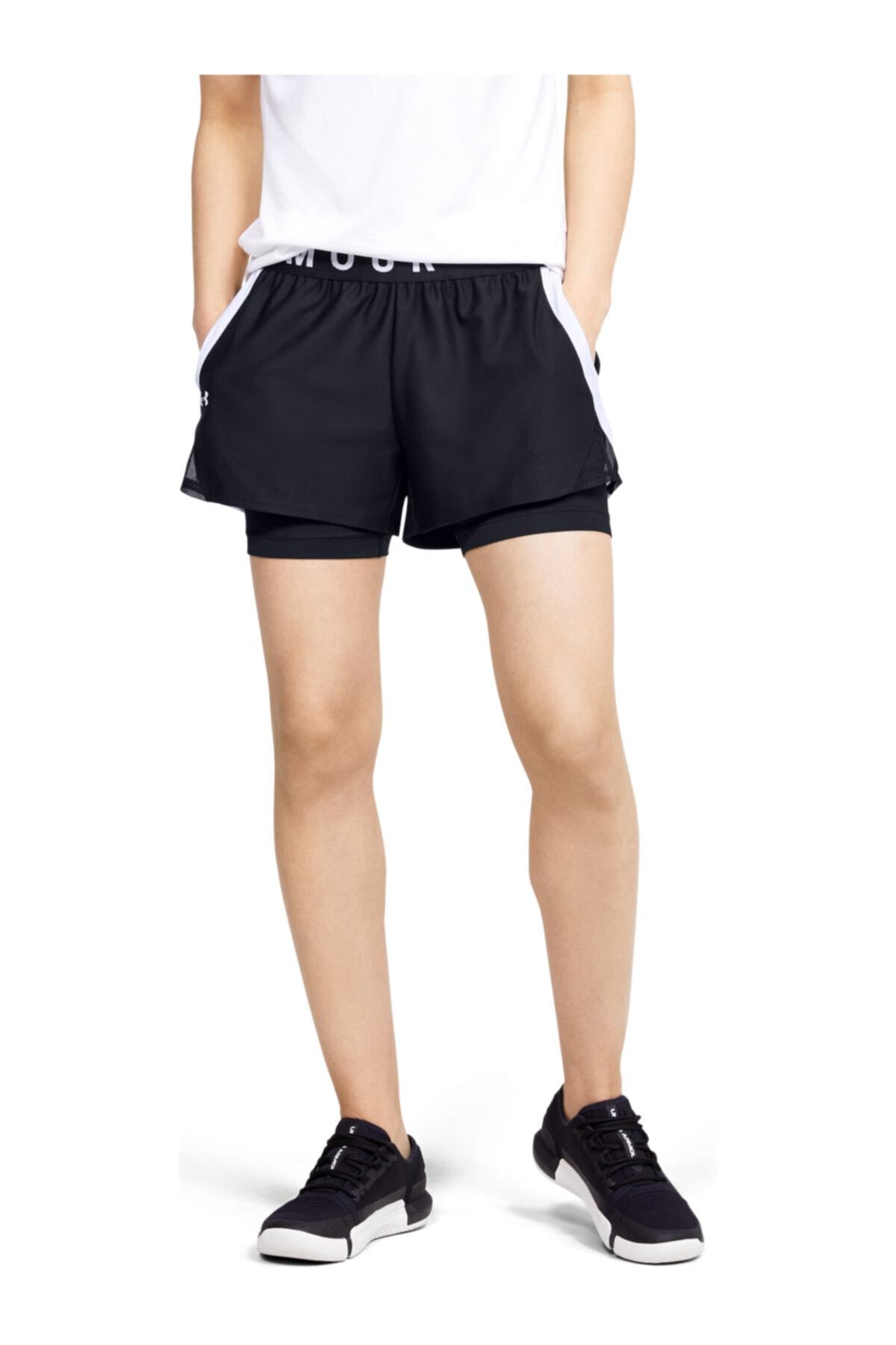 فروش شلوارک ورزشی مردانه جدید برند Under Armour رنگ مشکی کد ty37286980