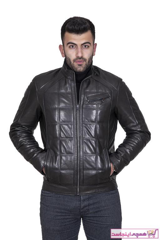 فروش انلاین کاپشن چرم مردانه مجلسی برند Leather Force رنگ مشکی کد ty37306305