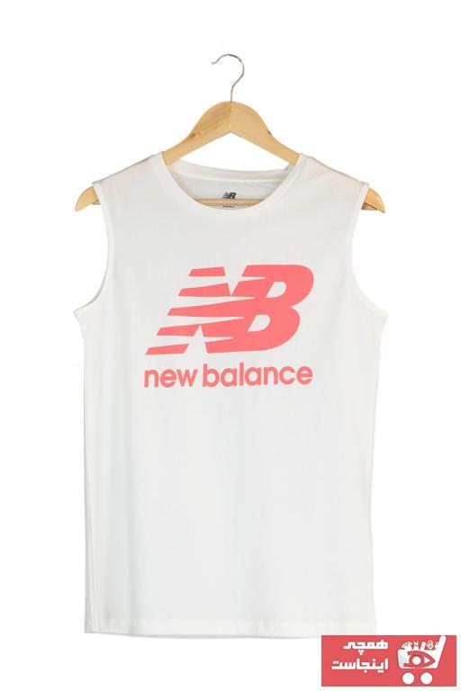 خرید ارزان تیشرت ورزشی زنانه پیاده روی برند New Balance کد ty37314450