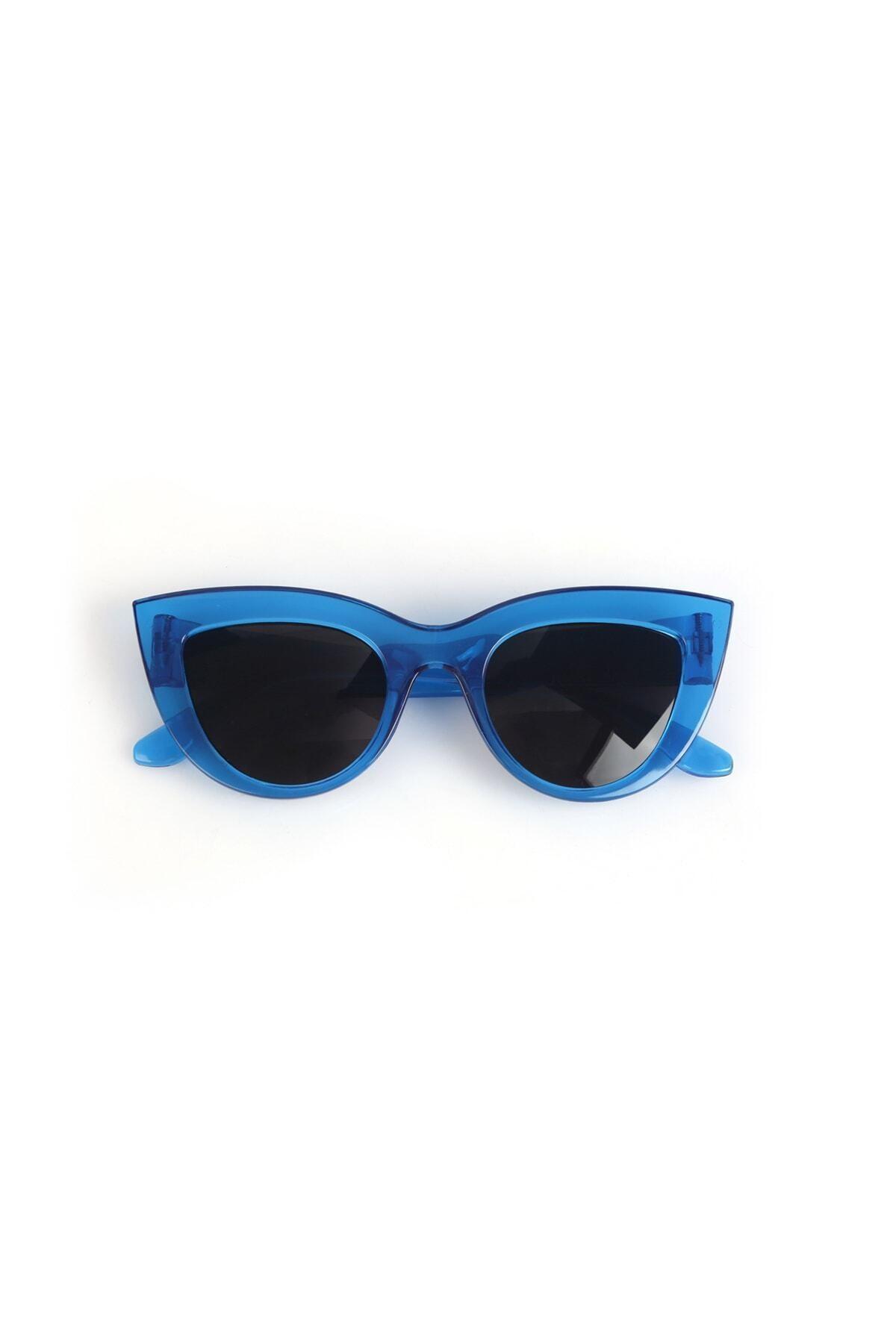 خرید نقدی عینک آفتابی جدید برند Nilu Moda رنگ آبی کد ty37362696