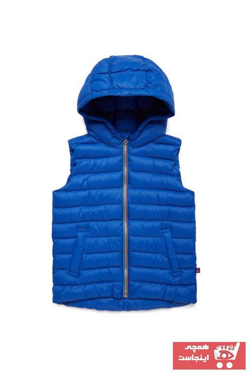 جلیقه دخترانه با قیمت برند United Colors of Benetton رنگ لاجوردی کد ty37410647