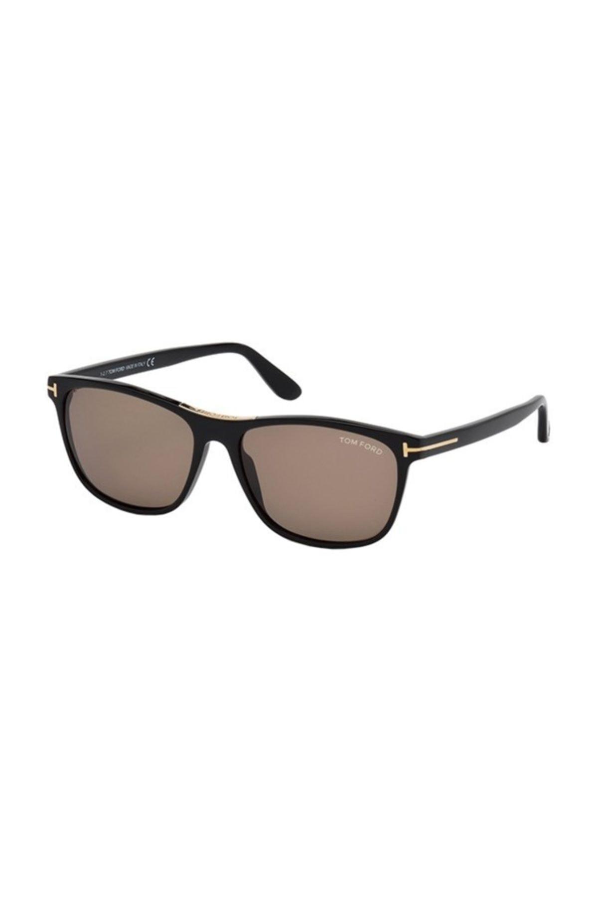 خرید مدل عینک دودی مردانه برند Tom Ford رنگ قهوه ای کد ty37425884