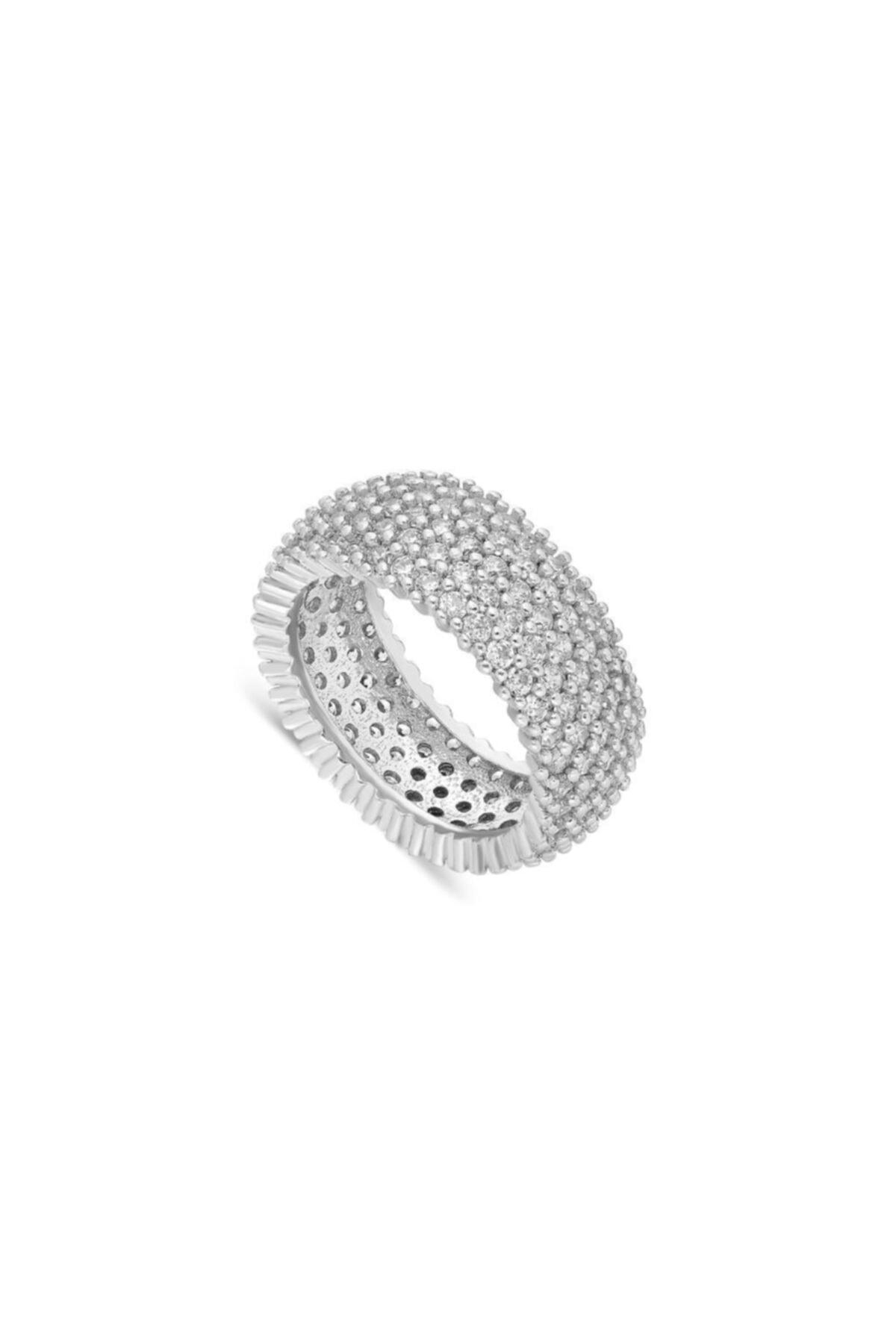 سفارش پستی حلقه زنانه برند Aykat رنگ نقره کد ty37587264