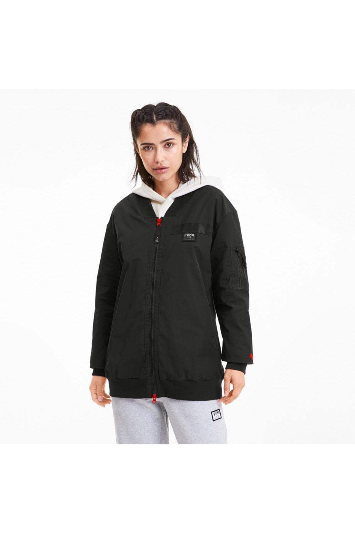 خرید نقدی گرمکن ورزشی زنانه  برند Puma رنگ مشکی کد ty37633746