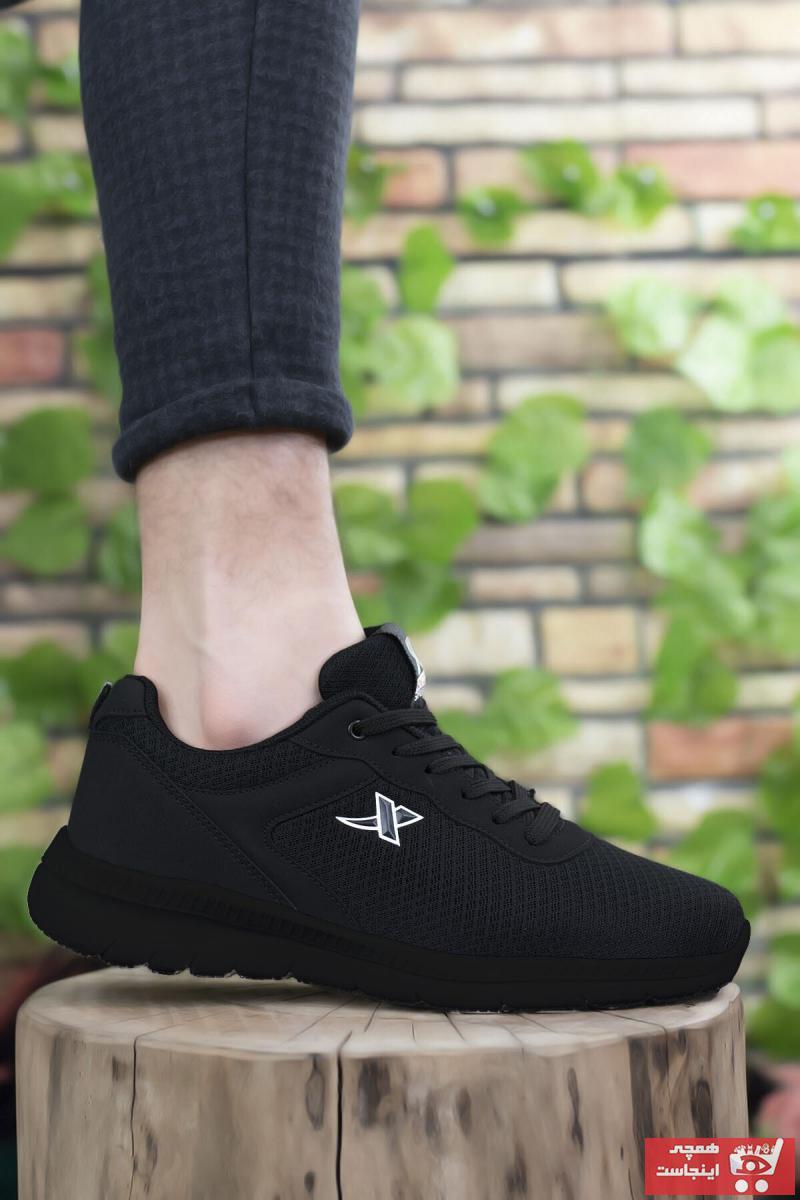 سفارش کفش اسپرت مردانه ارزان برند Riccon رنگ مشکی کد ty37658624