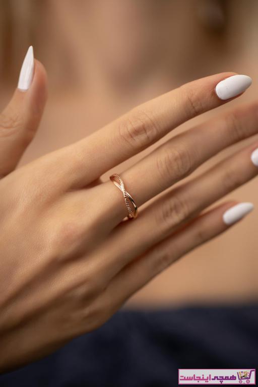 فروش انگشتر زنانه خفن برند İzla Design رنگ نقره کد ty37782769