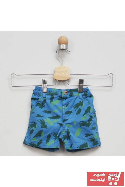 خرید ارزان شلوارک نوزاد پسرانه  برند Panço رنگ لاجوردی کد ty37791510