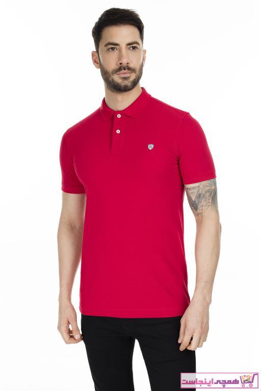 خرید اینترنتی پولوشرت مردانه از استانبول برند Lufian رنگ قرمز ty38132182