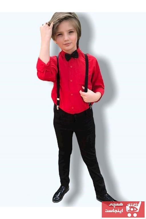 لباس مجلسی بچه گانه فانتزی Mnk Baby&Kids رنگ قرمز ty38344424