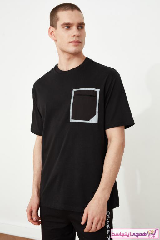 خرید مدل تیشرت مردانه مارک ترندیول مرد رنگ مشکی کد ty38401931