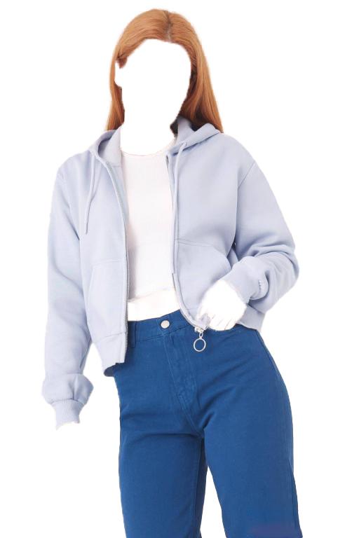 ژاکت بافتی فانتزی زنانه برند Addax رنگ آبی کد ty38503221