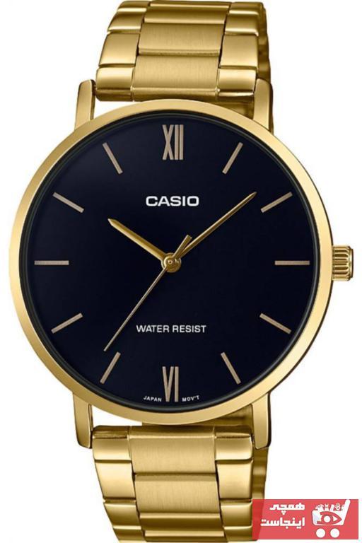 خرید انلاین ساعت مردانه اورجینال برند Casio رنگ زرد ty38600010
