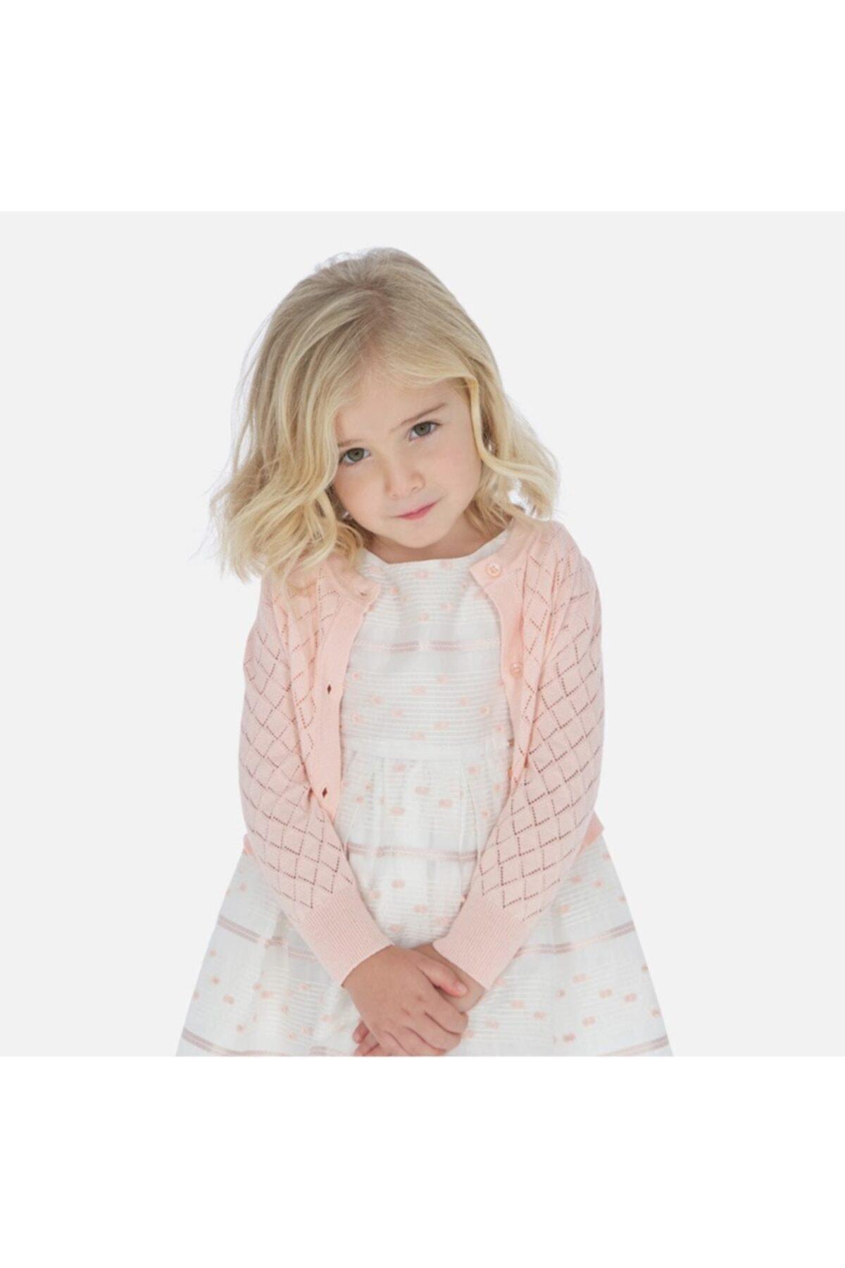 ژاکت دخترانه نگیندار برند MAYORAL رنگ صورتی ty38828209