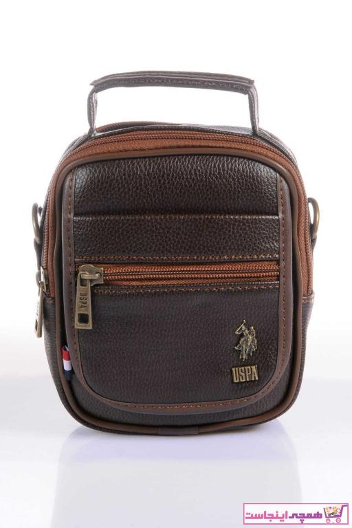 خرید اینترنتی کیف دستی برند US Polo Assn رنگ قهوه ای کد ty3912739