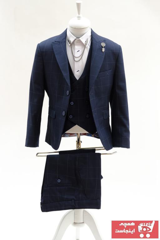 فروشگاه لباس مجلسی بچه گانه سال 1400 برند Doctor junior رنگ لاجوردی کد ty39215760