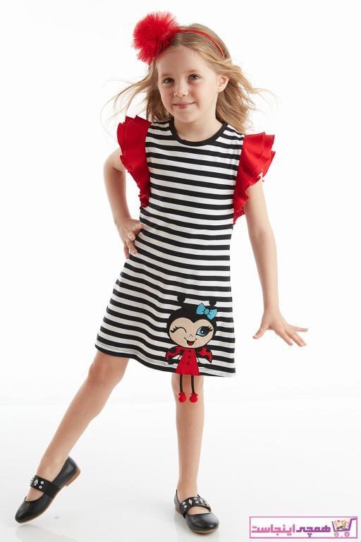 فروشگاه پیراهن دخترانه برند Denokids رنگ مشکی کد ty39638998