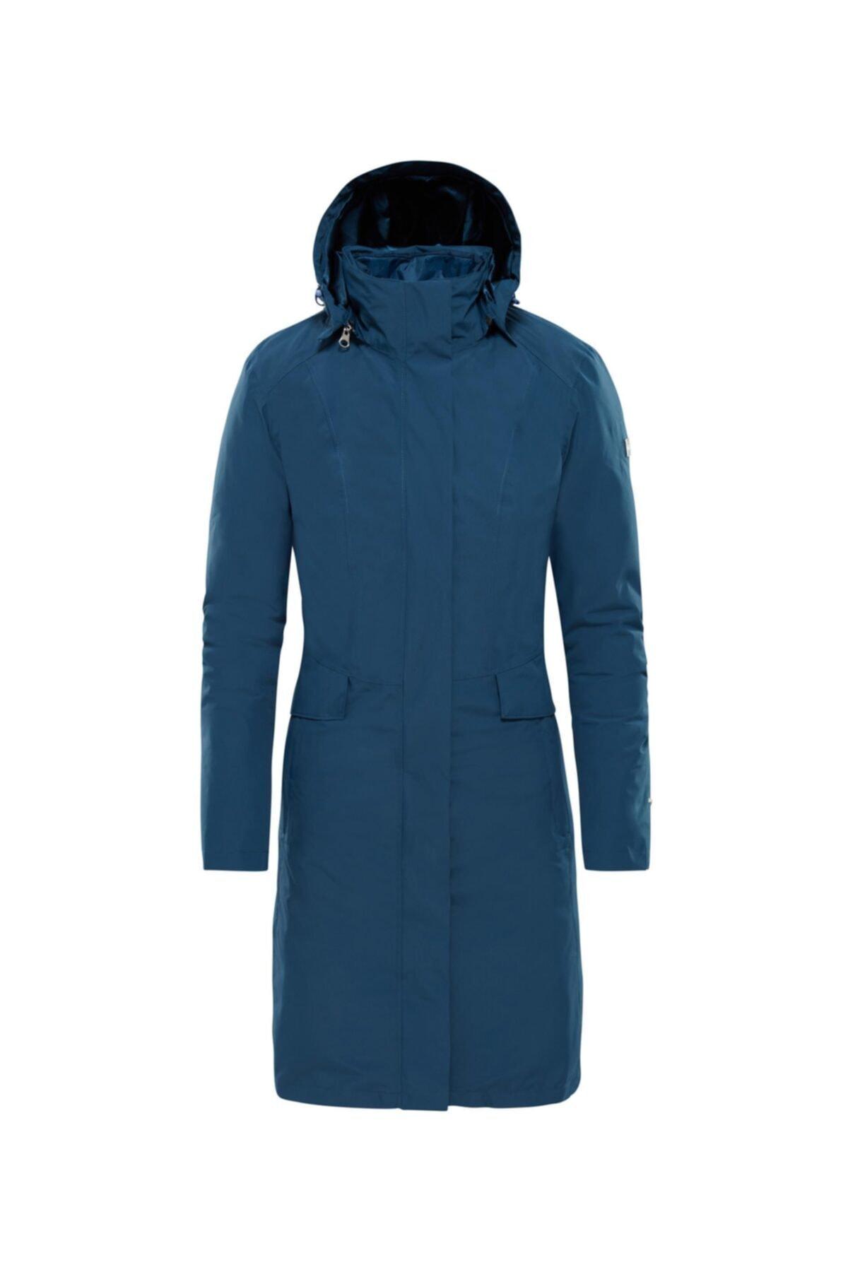 خرید اینترنتی کاپشن ورزشی خاص برند نورث فیس The North Face رنگ آبی کد ty3988619