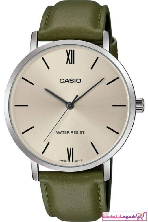 خرید ساعت مچی مردانه لوکس اورجینال برند کاسیو رنگ سبز کد ty39917243